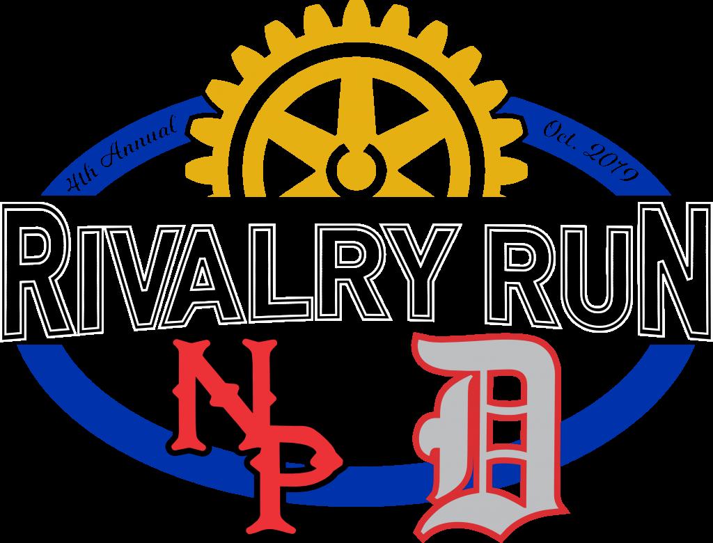Rivalry Run Color – Blue Oval