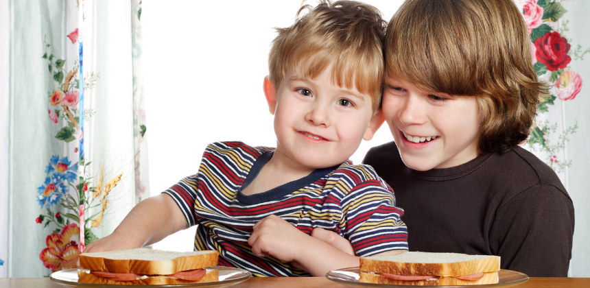 Boys-son-children-kids-lunch-eat-health-canva photo-can reuse
