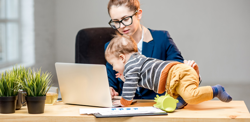 working-mom-career-multitask-work from home-mother-canva photo-toddler-can reuse