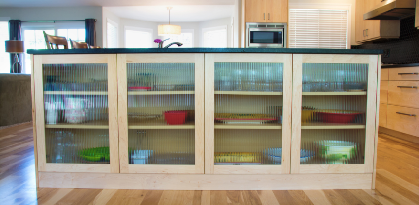 Diy Home Improvement Project Brighten Up Your Kitchen With Pop In Glass Cabinets Newsymom