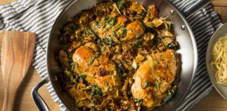 big-Creamy Tuscan Chicken