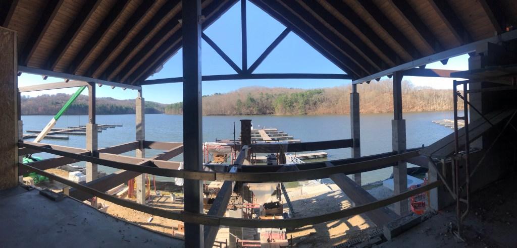 Tappan Lake Marina Construction