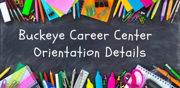 buckeye career center orientation details tuscarawas county