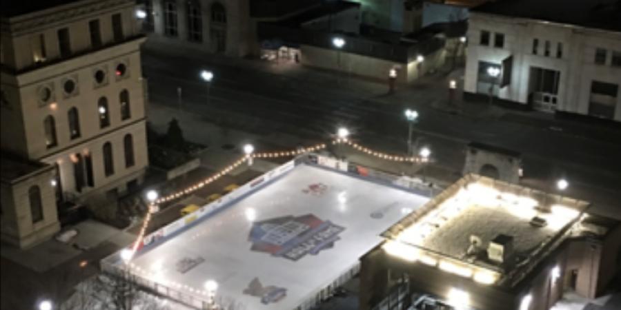 Canton-HOF-Ice Rink-Downtown