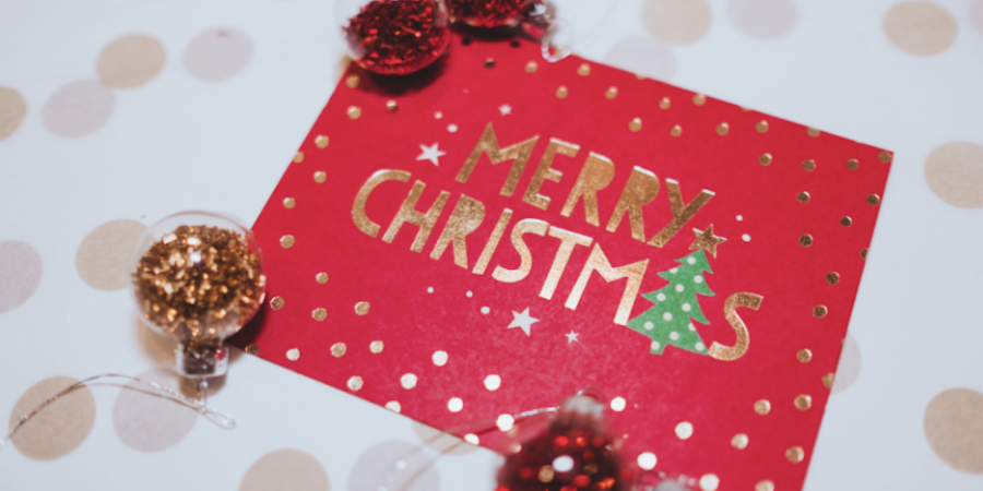 Christmas Card Image from Canva