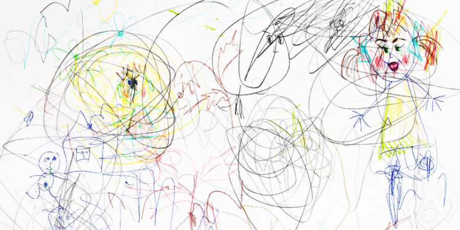 Draw-kids-art-chaos-canva photo-can reuse