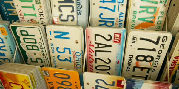 License Plate-Ohio-Drive-car-vehicle-canva photo-can reuse-travel