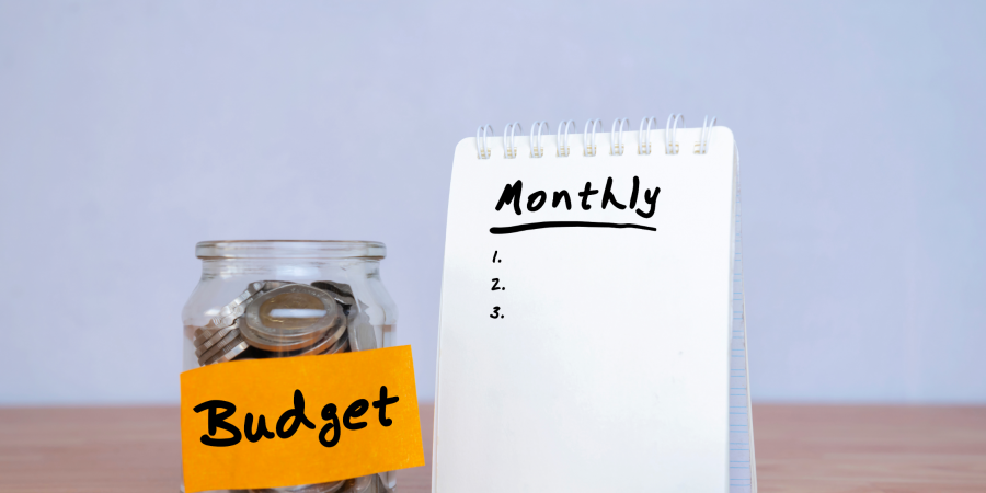 Monthly Budget - Canva