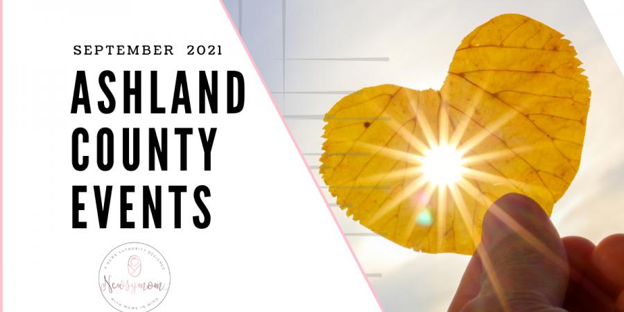 September Ashland County Events