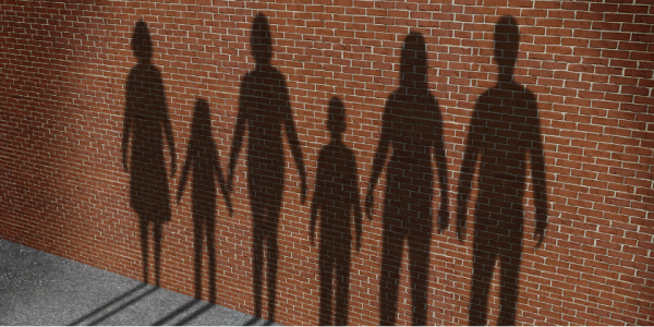 family-together-shadows-love-children-canva photo-can reuse