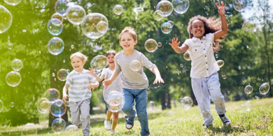 kids playing-outdoor-fun-children