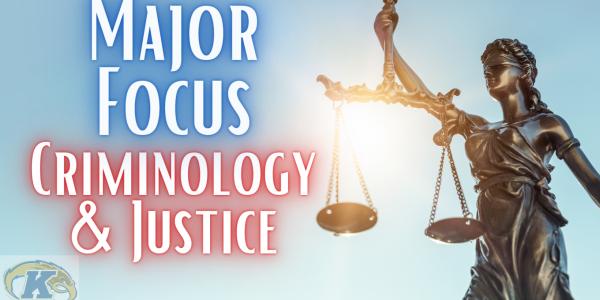 major focus criminology
